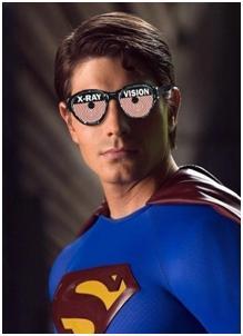 Xray superman